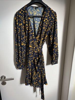 Maje Kleid in blau Gelb