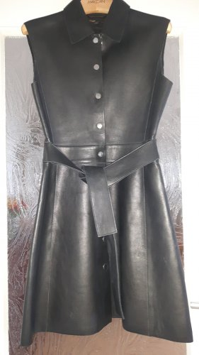 Maje Leather Dress black