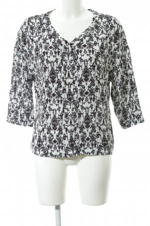 Maje Langarm-Bluse Allover-Druck Casual-Look