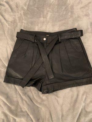 Maje High waist short zwart