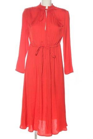 Maje Maxi abito rosso elegante