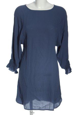 Maje Langarmkleid blau Casual-Look