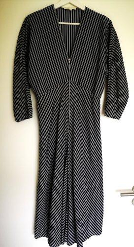 Maje Midikleid gestreift Kleid Stripes Gr. 3 / 38 Reißverschluss Boho