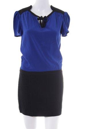 Maje Minikleid blau-schwarz Elegant