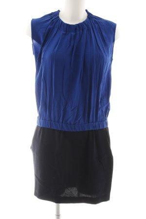 Maje Robe courte bleu-noir élégant