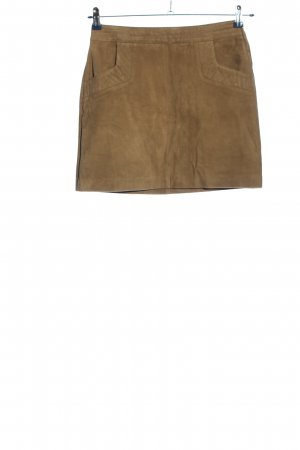 Maje Mini rok bruin casual uitstraling