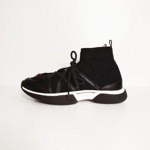 Maje - NEU - Sneaker/ Turnschuh - schwarz/ weiß - Gr.40