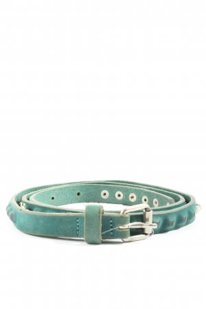 Maje Studded riem turkoois casual uitstraling