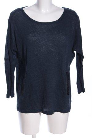 Maje Oversized Pullover blau Casual-Look
