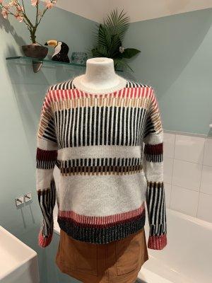 Maje Pullover mit Streifen