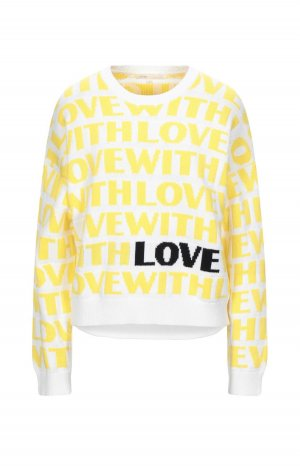 "Maje Pullover ""with love"""