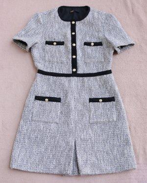 "Maje ""Rinie"" Tweed Kleid mit Kontrastdetails"