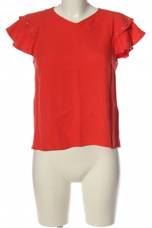 Maje Schlupf-Bluse rot Casual-Look