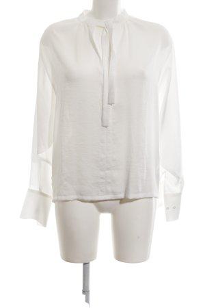 Maje Schlupf-Bluse weiß Elegant