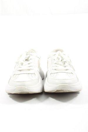 Maje Zapatilla brogue blanco look casual