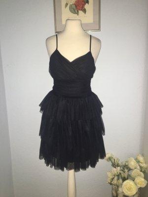 Maje Schönes Kleid aus schwarzem Tüll