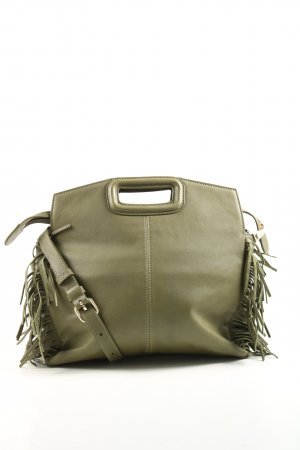 Maje Shoulder Bag khaki business style