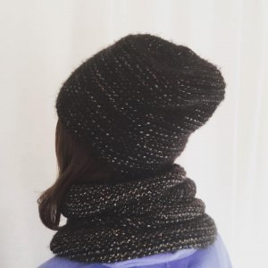 Maje Knitted Hat multicolored