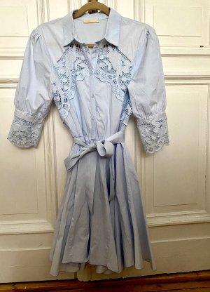 Maje Blouse Dress cornflower blue-azure