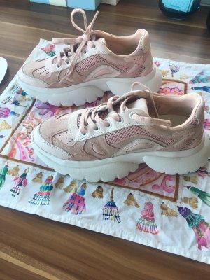 Maje Sneaker rosa weiß 38