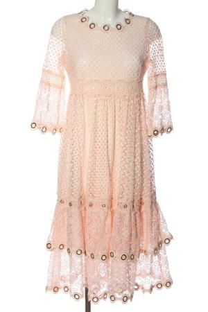 Maje Lace Dress cream extravagant style