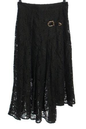 Maje Spitzenrock schwarz Elegant