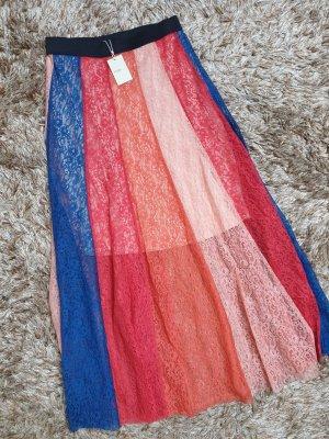 Maje Lace Skirt multicolored