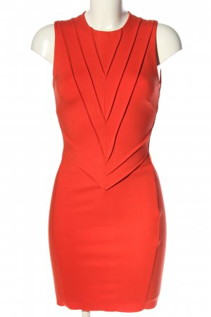 Maje Stretchkleid rot Casual-Look