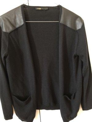 Maje Cardigan in maglia nero