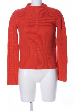 Maje Strickpullover rot Casual-Look