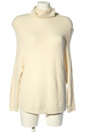 Maje Strickpullover creme Casual-Look