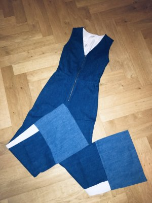 Maje Super coole Jeans Overall mit weitem Bein