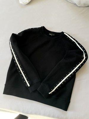 Maje Sweatshirt mit Nietendetails Gr.1