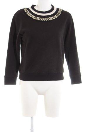 Maje Sweatshirt schwarz Casual-Look
