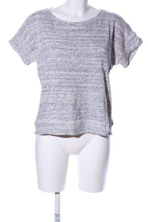 Maje T-Shirt hellgrau meliert Casual-Look