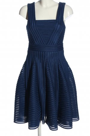 Maje Trägerkleid blau Streifenmuster Casual-Look