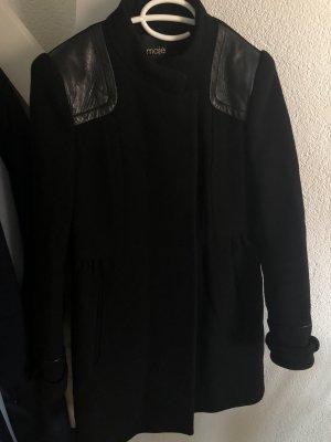 Maje Wintermantel schwarz 38 FR