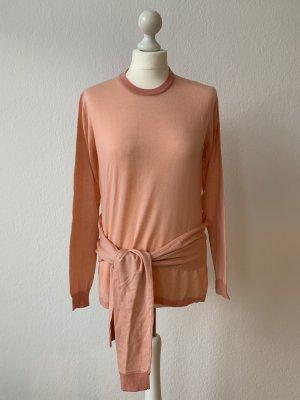 Maje Maglione di lana rosa pallido-color carne Lana