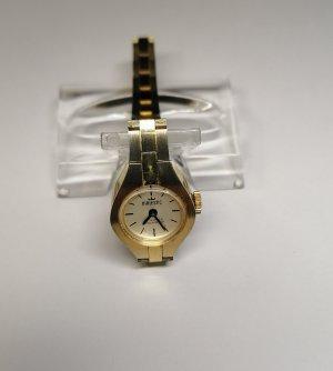 Majestic Reloj con pulsera metálica color oro