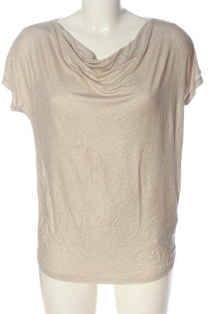 Majestic Filatures Camisa con cuello caído color oro look casual
