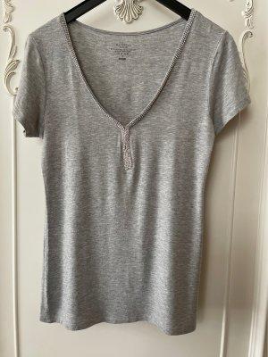 Majestic T-shirt grigio chiaro