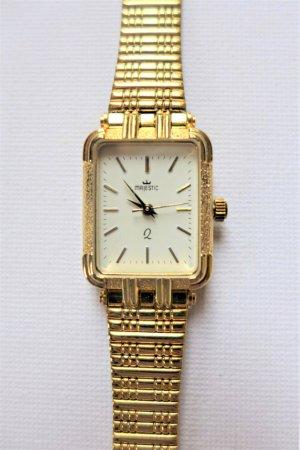 Majestic vintage Damen Armbanduhr gold 60er 70er 80er