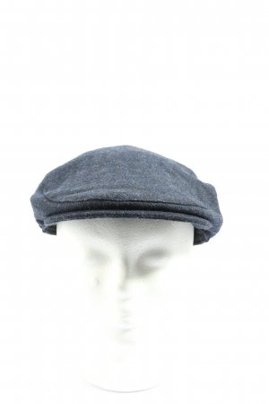 major wear Gorra redonda con visera azul look casual