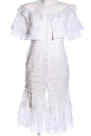 Majorelle Abito blusa bianco stile casual