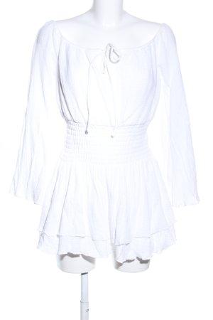 Majorelle Minikleid weiß Casual-Look