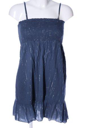 Makai Abito a fascia blu motivo astratto stile casual