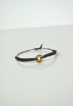 Makramee Armband mit Tigerauge
