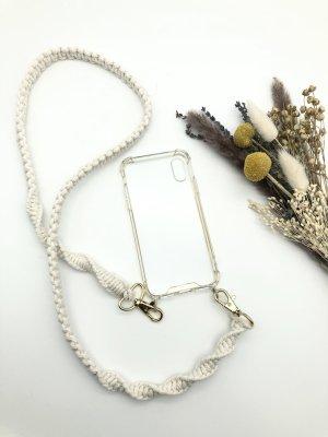 unknown Hoesje voor mobiele telefoons wolwit-goud Katoen