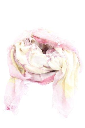 Mala Alisha Sommerschal pink-blassgelb Allover-Druck Elegant