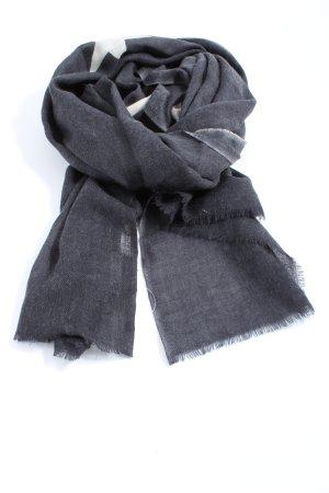 Mala Alisha Knitted Scarf black-white themed print casual look